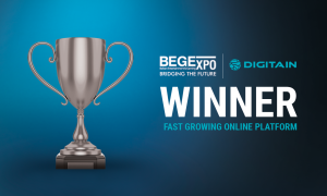 Digitain Wins Fast Growing Online Platform At The BEGE Awards 2019