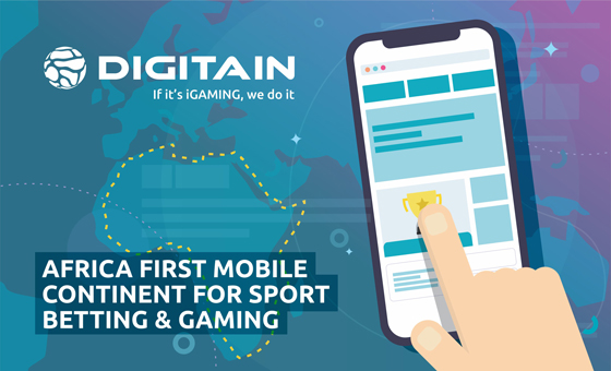 The first mobile continent for sports betting and gaming