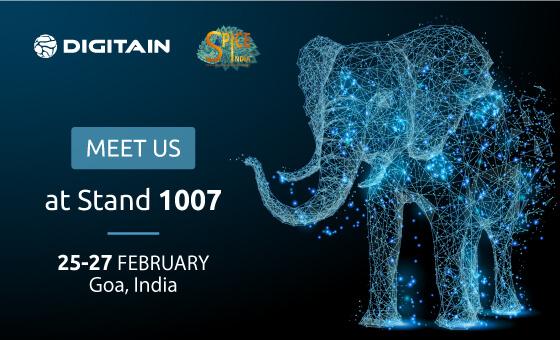 Meet us at Goa, India Digitain