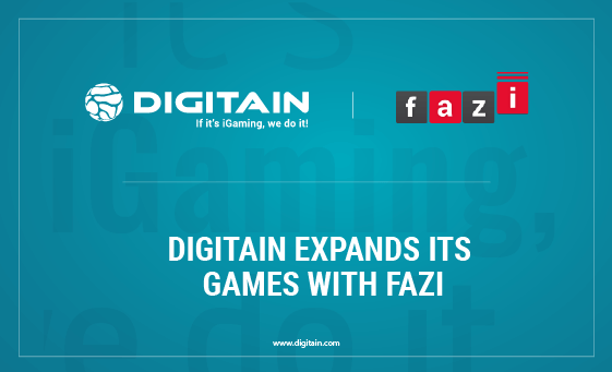 Digitain Expands its games with fazi