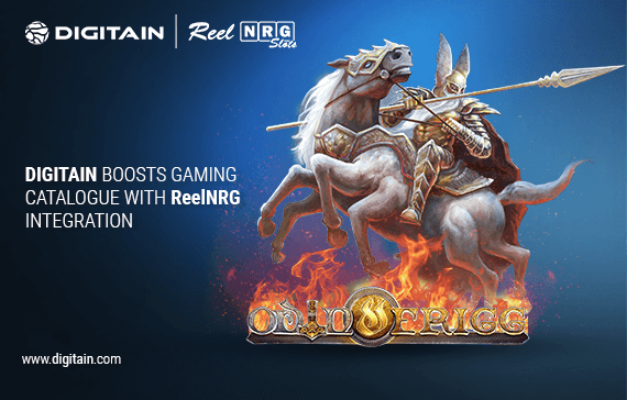 Digitain Boosts Gaming Catalogue with ReelNRG