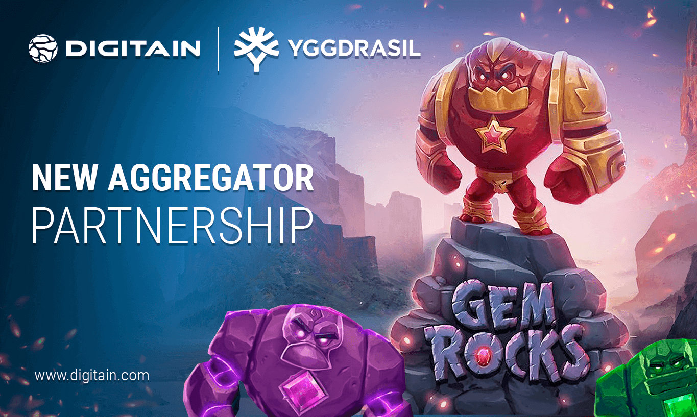 Digitain seals partnership with Yggdrasil