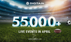 More than 55,000 live events - Digitain