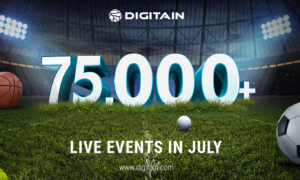 More than 75,000 live events - Digitain