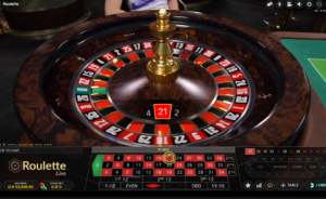 Roulette Live Digitain