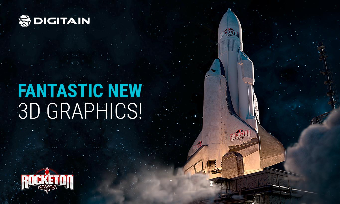 ROCKETON RELAUNCH Digitain